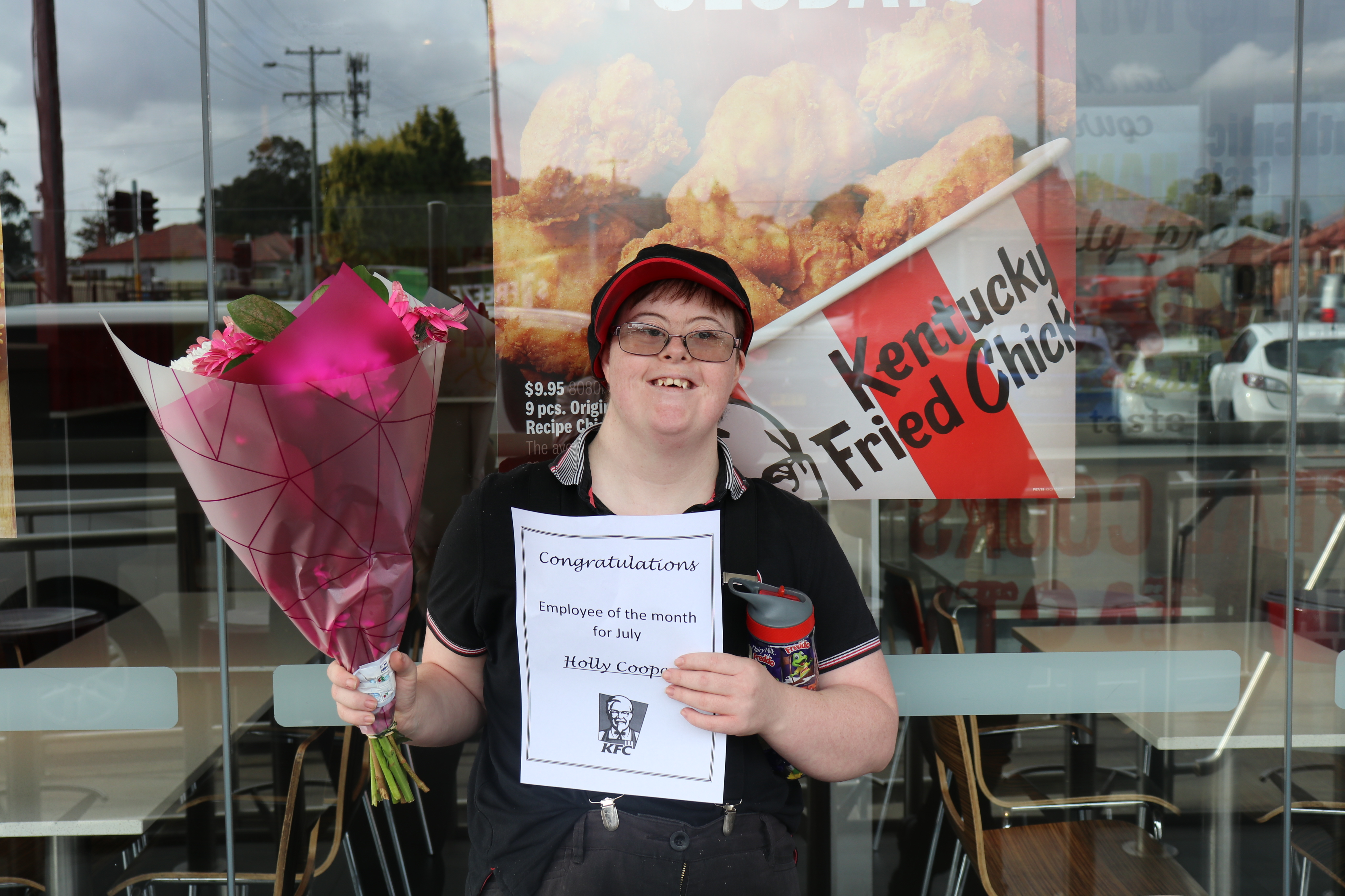Holly Cooper Employee of the Month