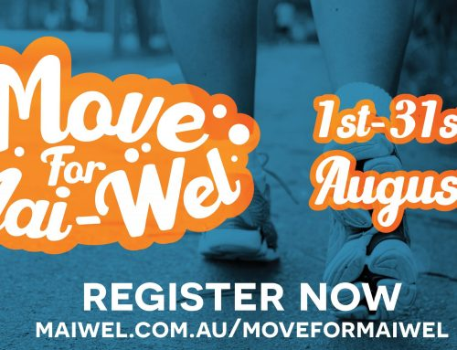 It's time to get active with Move for Mai-Wel!